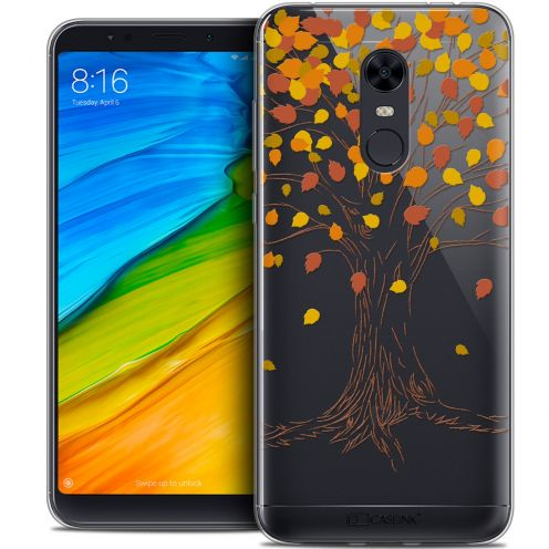 "Coque Crystal Gel Xiaomi Redmi 5 Plus (6"") Extra Fine Autumn 16 - Tree"