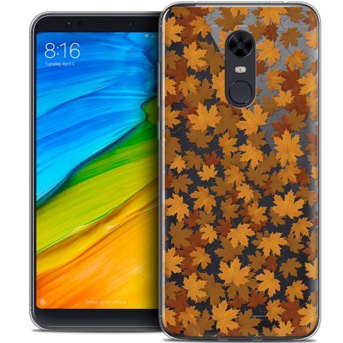 "Coque Crystal Gel Xiaomi Redmi 5 Plus (6"") Extra Fine Autumn 16 - Feuilles"