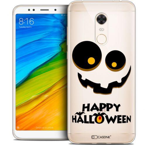 "Coque Crystal Gel Xiaomi Redmi 5 Plus (6"") Extra Fine Halloween - Happy"