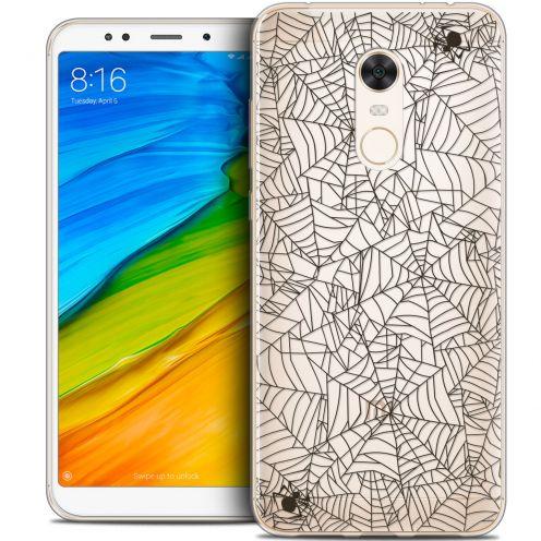 "Coque Crystal Gel Xiaomi Redmi 5 Plus (6"") Extra Fine Halloween - Spooky Spider"