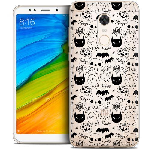 "Coque Crystal Gel Xiaomi Redmi 5 Plus (6"") Extra Fine Halloween - Spooky"