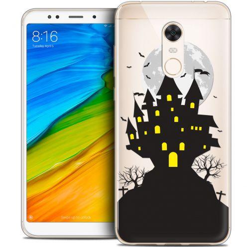 "Coque Crystal Gel Xiaomi Redmi 5 Plus (6"") Extra Fine Halloween - Castle Scream"