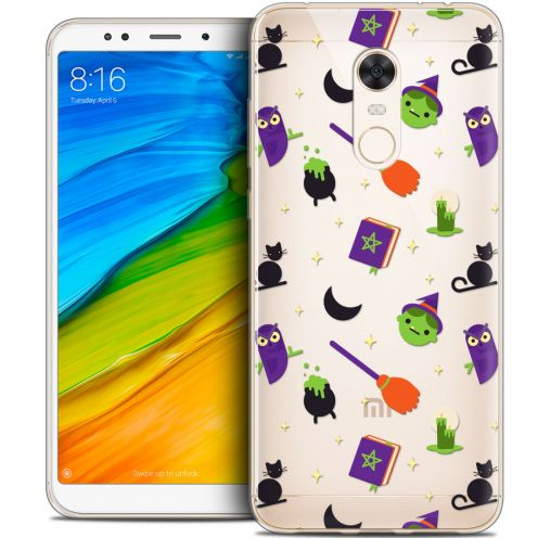 "Coque Crystal Gel Xiaomi Redmi 5 Plus (6"") Extra Fine Halloween - Witch Potter"