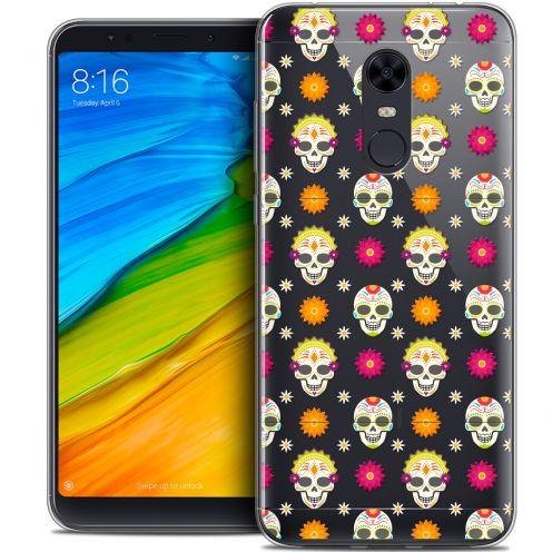 "Coque Crystal Gel Xiaomi Redmi 5 Plus (6"") Extra Fine Halloween - Skull Halloween"