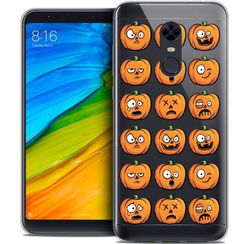 "Coque Crystal Gel Xiaomi Redmi 5 Plus (6"") Extra Fine Halloween - Cartoon Citrouille"