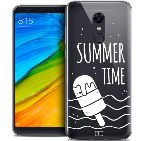 "Coque Crystal Gel Xiaomi Redmi 5 Plus (6"") Extra Fine Summer - Summer Time"