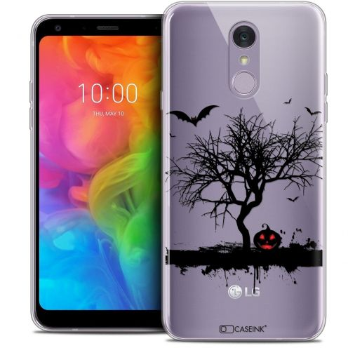 "Coque Crystal Gel LG Q7 (5.5"") Extra Fine Halloween - Devil's Tree"