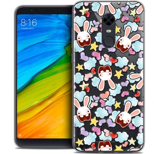 "Coque Gel Xiaomi Redmi 5 Plus (6"") Extra Fine Lapins Crétins™ - Love Pattern"