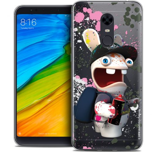 "Coque Gel Xiaomi Redmi 5 Plus (6"") Extra Fine Lapins Crétins™ - Painter"