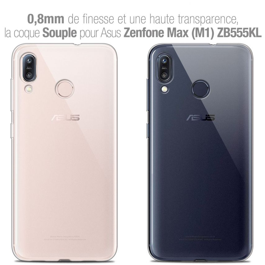 """Coque Asus Zenfone Max (M1) ZB555KL (5.5"""") Extra Fine Souple Crystal Clear"""