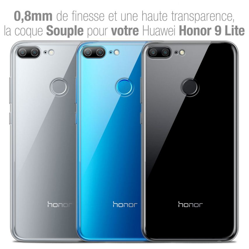 """Coque Huawei Honor 9 LITE (5.7"""") Extra Fine Souple Crystal Clear"""