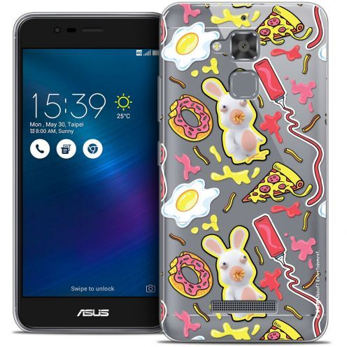 "Coque Gel Asus Zenfone 3 Max ZC520TL (5.2"") Extra Fine Lapins Crétins™ - Egg Pattern"