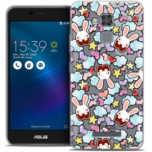 "Coque Gel Asus Zenfone 3 Max ZC520TL (5.2"") Extra Fine Lapins Crétins™ - Love Pattern"