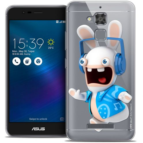"""Coque Gel Asus Zenfone 3 Max ZC520TL (5.2"""") Extra Fine Lapins Crétins™ - Techno Lapin"""