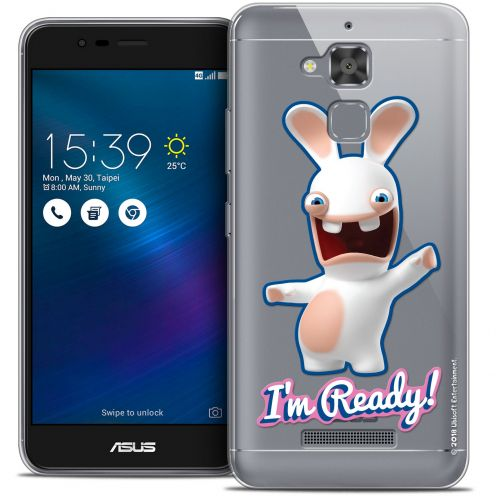 "Coque Gel Asus Zenfone 3 Max ZC520TL (5.2"") Extra Fine Lapins Crétins™ - I'm Ready !"