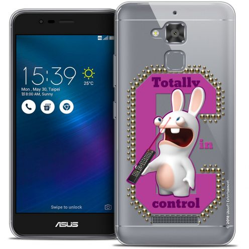 "Coque Gel Asus Zenfone 3 Max ZC520TL (5.2"") Extra Fine Lapins Crétins™ - In Control !"