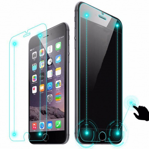 "Protection Verre trempé Magic Touch iPhone 6 Plus/6S Plus 5.5"" - 9H 0.26mm 2.5D"