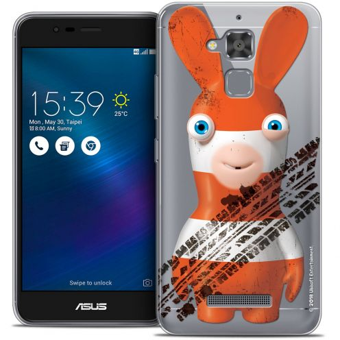 "Coque Gel Asus Zenfone 3 Max ZC520TL (5.2"") Extra Fine Lapins Crétins™ - On the Road"