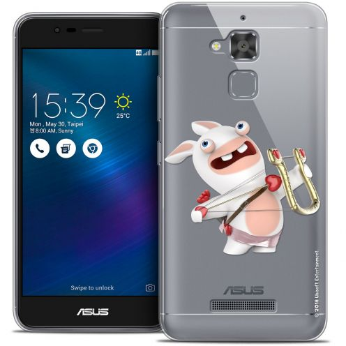 "Coque Gel Asus Zenfone 3 Max ZC520TL (5.2"") Extra Fine Lapins Crétins™ - Cupidon Crétin"