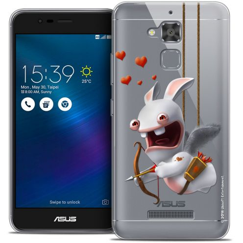 """Coque Gel Asus Zenfone 3 Max ZC520TL (5.2"""") Extra Fine Lapins Crétins™ - Flying Cupidon"""