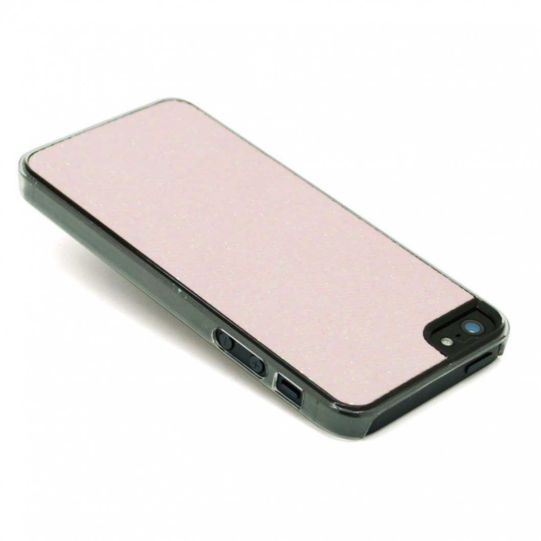 coque luxe strass paillettes rose iphone 5
