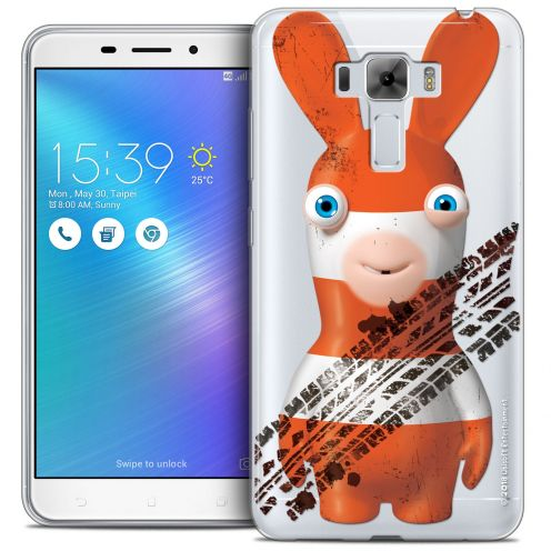 """Coque Gel Asus Zenfone 3 Laser ZC551KL (5.5"""") Extra Fine Lapins Crétins™ - On the Road"""