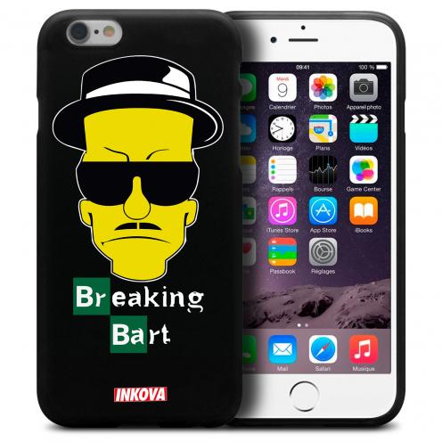 Vue détaillée de Coque iPhone 6 / 6s Inkova Extra Fine Noir Breaking Bart