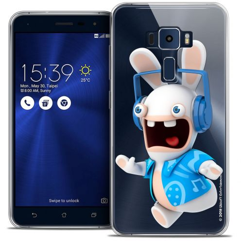 "Coque Gel Asus Zenfone 3 ZE552KL (5.5"") Extra Fine Lapins Crétins™ - Techno Lapin"