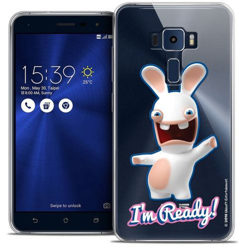 "Coque Gel Asus Zenfone 3 ZE552KL (5.5"") Extra Fine Lapins Crétins™ - I'm Ready !"
