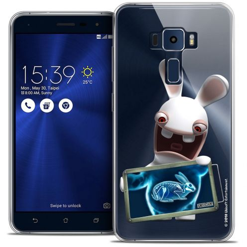 "Coque Gel Asus Zenfone 3 ZE552KL (5.5"") Extra Fine Lapins Crétins™ - X Ray Crétin"