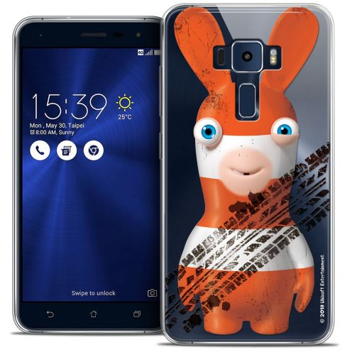 "Coque Gel Asus Zenfone 3 ZE552KL (5.5"") Extra Fine Lapins Crétins™ - On the Road"