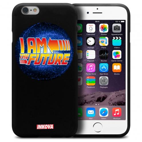 Vue détaillée de Coque iPhone 6 Plus / iPhone 6s Plus Inkova Extra Fine Noir Circle I Am The Future