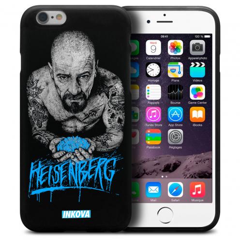 Coque iPhone 6 Plus / iPhone 6s Plus Inkova Extra Fine Noir Heisenberg TAT-HSBRG