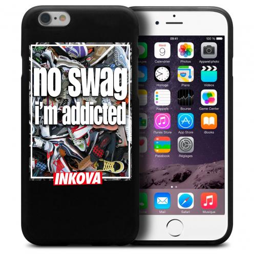 Vue détaillée de Coque iPhone 6 Plus / iPhone 6s Plus Inkova Extra Fine Noir Sneaker Swag