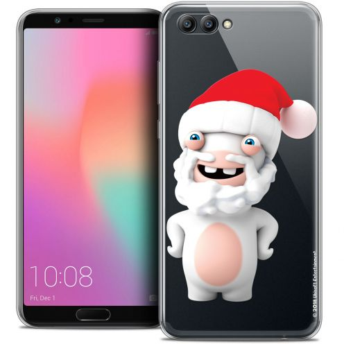"Coque Gel Honor View 10 / V10 (6"") Extra Fine Lapins Crétins™ - Lapin Noël"