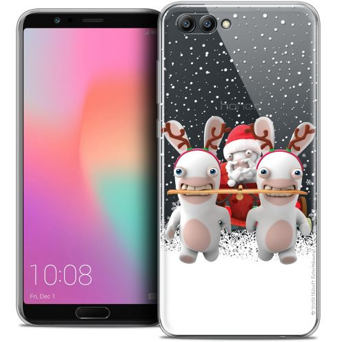 "Coque Gel Honor View 10 / V10 (6"") Extra Fine Lapins Crétins™ - Lapin Traineau"