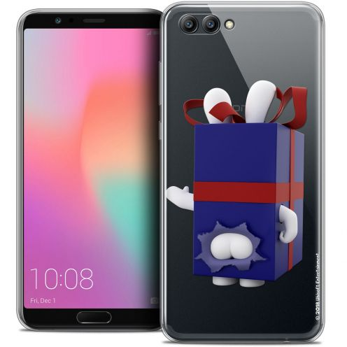 "Coque Gel Honor View 10 / V10 (6"") Extra Fine Lapins Crétins™ - Lapin Surprise Bleu"
