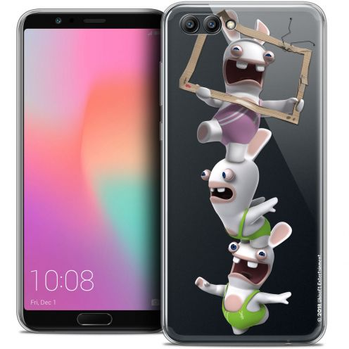 "Coque Gel Honor View 10 / V10 (6"") Extra Fine Lapins Crétins™ - TV Sport"