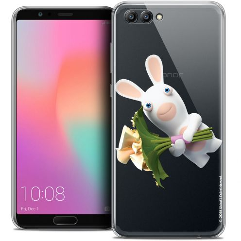 "Coque Gel Honor View 10 / V10 (6"") Extra Fine Lapins Crétins™ - Bouquet Crétin"