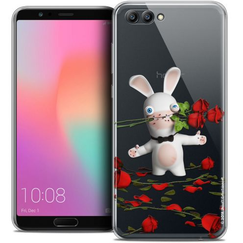 "Coque Gel Honor View 10 / V10 (6"") Extra Fine Lapins Crétins™ - Gentleman Crétin"