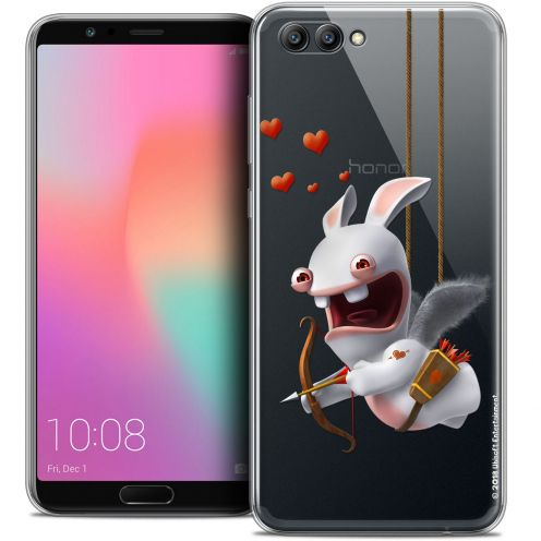 "Coque Gel Honor View 10 / V10 (6"") Extra Fine Lapins Crétins™ - Flying Cupidon"
