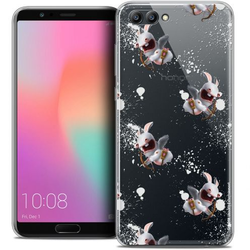 "Coque Gel Honor View 10 / V10 (6"") Extra Fine Lapins Crétins™ - Cupidon Pattern"
