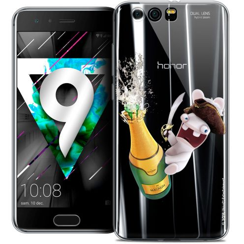 """Coque Gel Huawei Honor 9 (5.15"""") Extra Fine Lapins Crétins™ - Champagne !"""