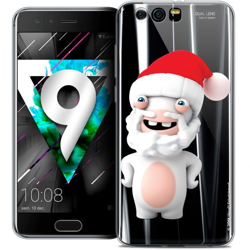 """Coque Gel Huawei Honor 9 (5.15"""") Extra Fine Lapins Crétins™ - Lapin Noël"""