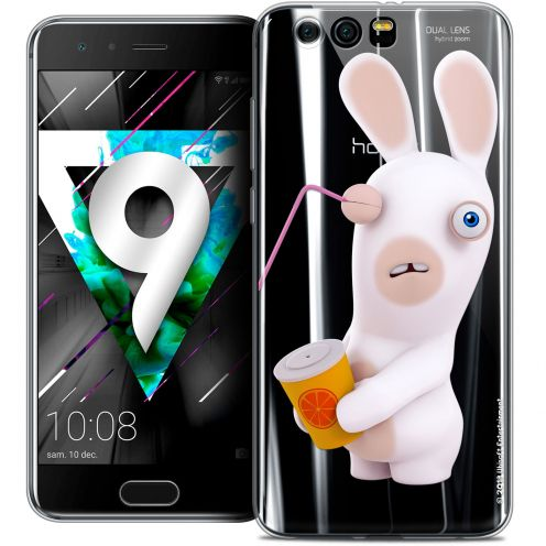 """Coque Gel Huawei Honor 9 (5.15"""") Extra Fine Lapins Crétins™ - Soda Crétin"""