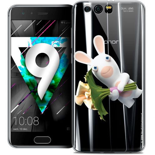 """Coque Gel Huawei Honor 9 (5.15"""") Extra Fine Lapins Crétins™ - Bouquet Crétin"""