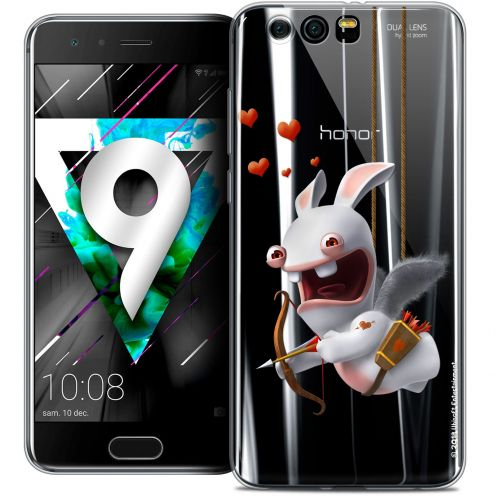 """Coque Gel Huawei Honor 9 (5.15"""") Extra Fine Lapins Crétins™ - Flying Cupidon"""