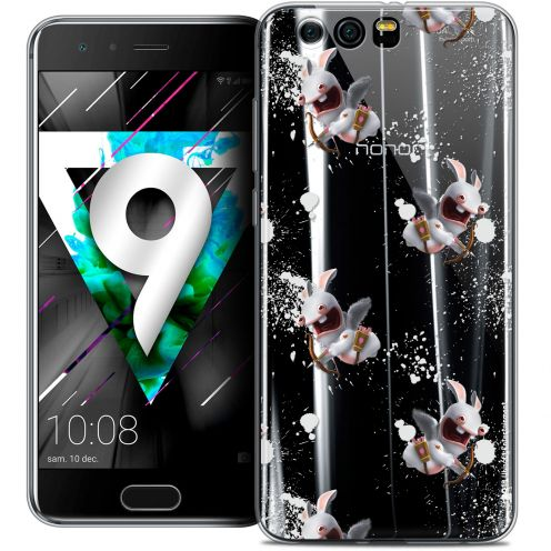 """Coque Gel Huawei Honor 9 (5.15"""") Extra Fine Lapins Crétins™ - Cupidon Pattern"""