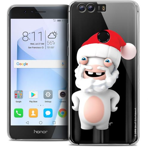 """Coque Gel Huawei Honor 8 (5.2"""") Extra Fine Lapins Crétins™ - Lapin Noël"""