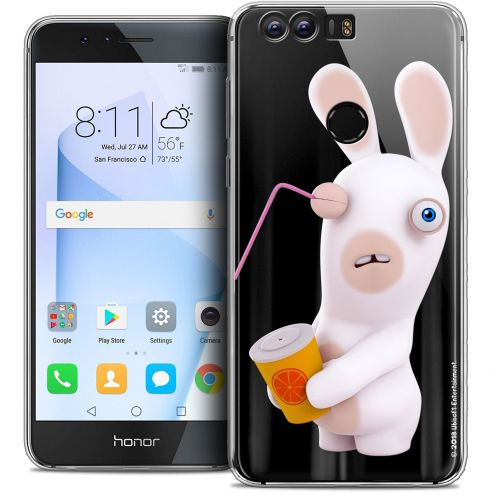 """Coque Gel Huawei Honor 8 (5.2"""") Extra Fine Lapins Crétins™ - Soda Crétin"""